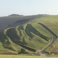 Approaching the Devil's Dyke