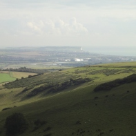 Seaford Head in distance beyond Ouse Valley