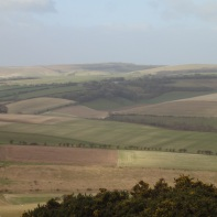 Looking back towards Ditchling Beacon from Newmarket Hill
