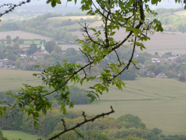 South Harting from Harting Down - click to enlarge