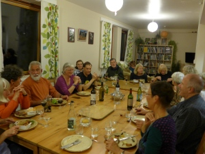Dinner at Wetherdown Lodge